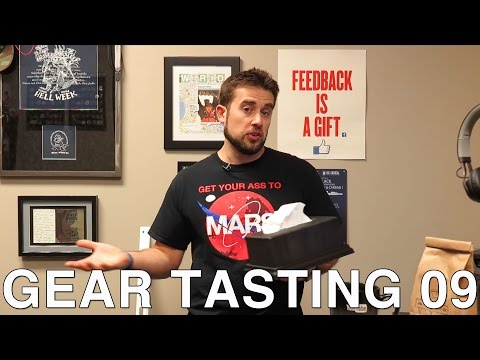 Gear Tasting 09: Tissues, Comms and Home Security
