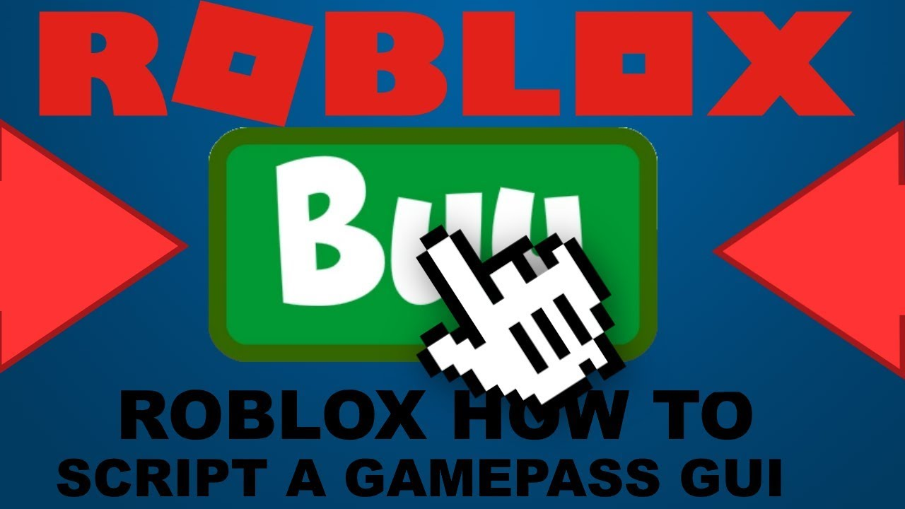 ROBLOX How to Script a Purchase Gamepass Button!