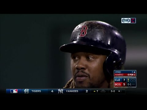 Austin Jackson's unbelievable catch in game against Red Sox