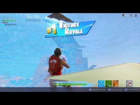 Fortnite win and clutch