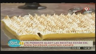 Receta Dulce: Lemon Pie