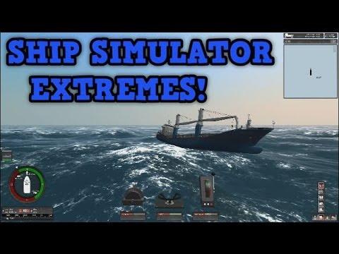 Ship Simulator Extremes - HUGE WAVES!!