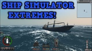 Ship Simulator Extremes - HUGE WAVES!!