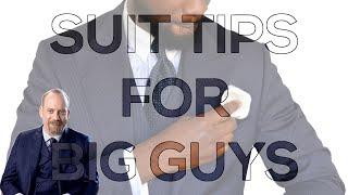 Suit Tips For Big Guys | Chuck Rhoades Jr | Billions