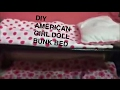 DIY American Girl Doll Bunk Bed