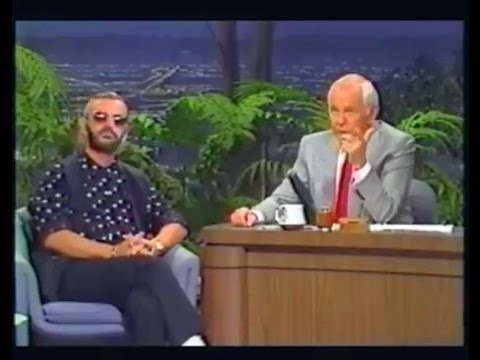 Ringo Starr on The Tonight  with Johnny Carson July 12, 1989