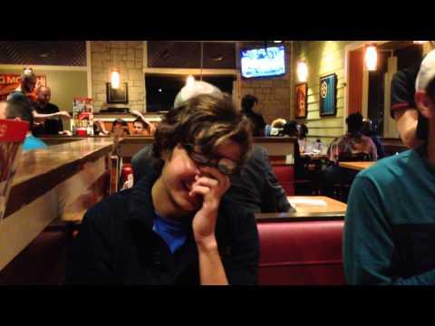 Liam's birthday at Chilis