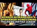 Wonder Woman Gana A Spiderman Homecoming - Justice League Trajes En Las Vegas video