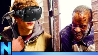 VR Construction Worker VS Zombies!