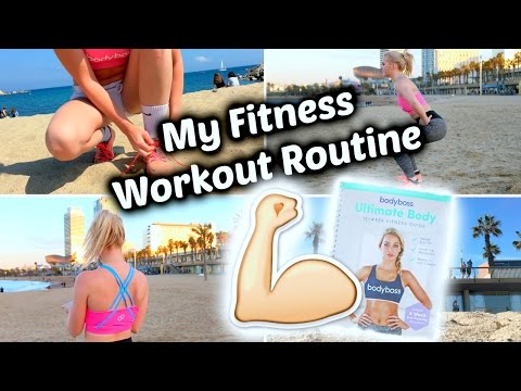 My Fitness Experience/Routine ft Bodyboss 12 Week Fitness Guide