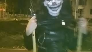 Макияж на Хэллоуин. Танцующий клоун. Пеннивайз