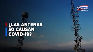 ¿Por qué se cree que las antenas 5G causan covid-19?