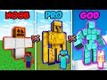 Minecraft NOOB vs. PRO vs. GOD: IRON GOLEM in Minecraft! (Animation)