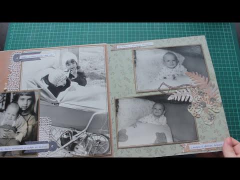 Большой альбом со старыми фотографиями