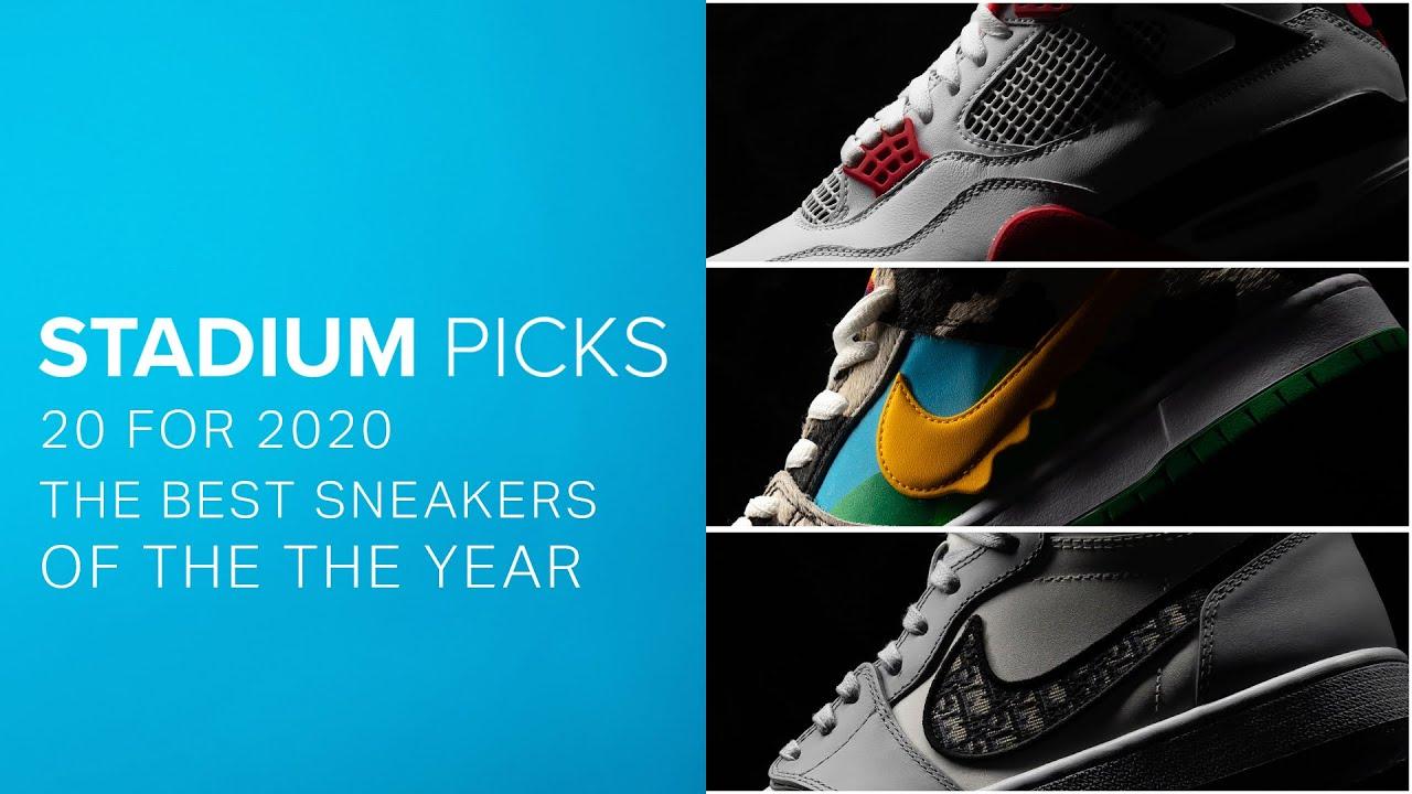 20 Best Sneakers of 2020 - Dior Jordan 1, Nike SB Chunky Dunky & More