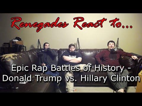 Renegades React to... Epic Rap Battles of History - Donald Trump vs. Hillary Clinton