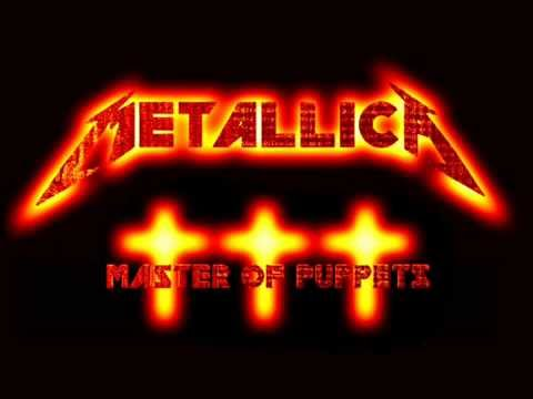 Metallica - Master of puppets (lyrics on screen)