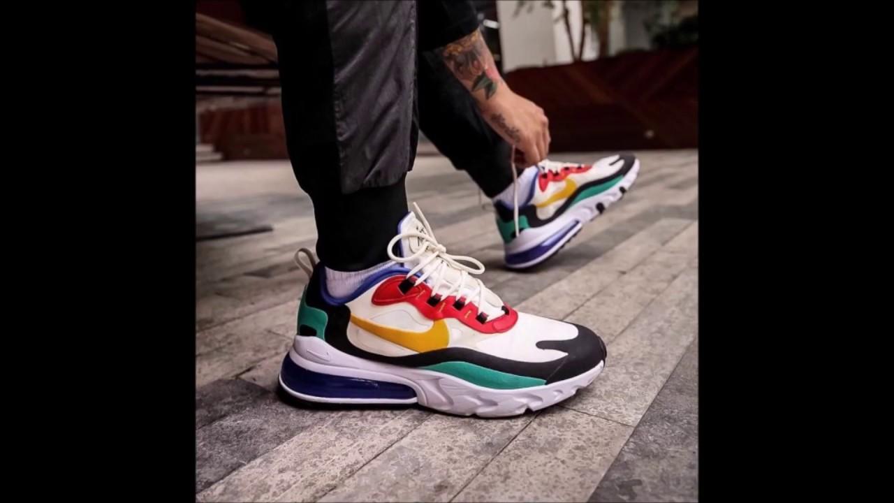 Las zapatillas Nike Air Max 270 React Bauhaus, La mejor calidad y a los precios super bajos 2019