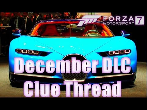 forza motorsport 7 december dlc car clues youtube. Black Bedroom Furniture Sets. Home Design Ideas