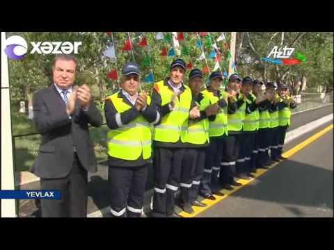 Prezident İlham Əliyev Yevlax rayonuna səfər edib