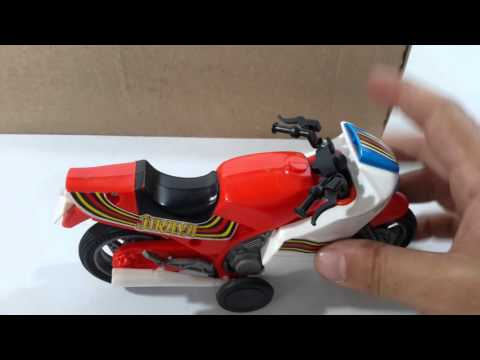 Boneco iyraya Glasslite Brinquedo antiga Moto Jiraya Old Toy década 80 Jiraya Manchete
