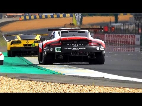 24 Hours of Le Mans 2017 Test Day Pure Sound !