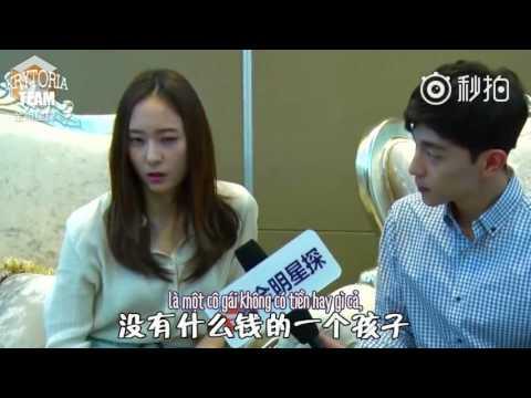 "[Vietsub] f(x) Krystal - ""Graduation Season"" Interview with Deng Lun {Krytoria Team x Nhóc Tồ}"