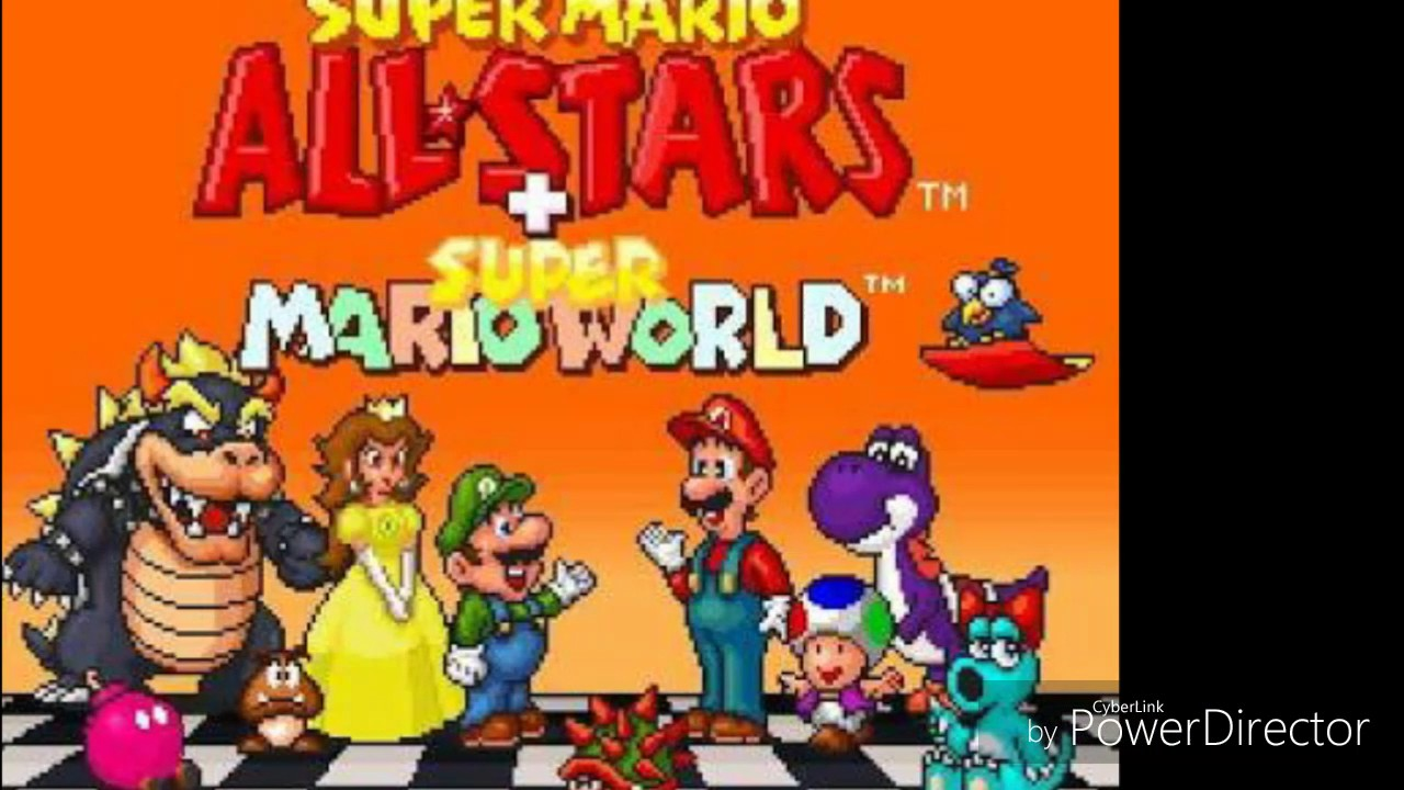 Descargar Super Mario All Stars Super Mario World Snes Rom Youtube