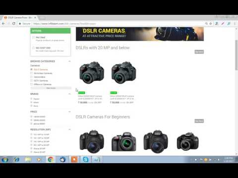 How to get hot deals on cameras