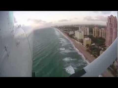 Flying over Fort Lauderdale, FL
