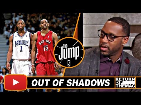 T-Mac On Playing Behind Vince Carter & Becoming One Man Show In Orlando | The Jump | Nov 1, 2017