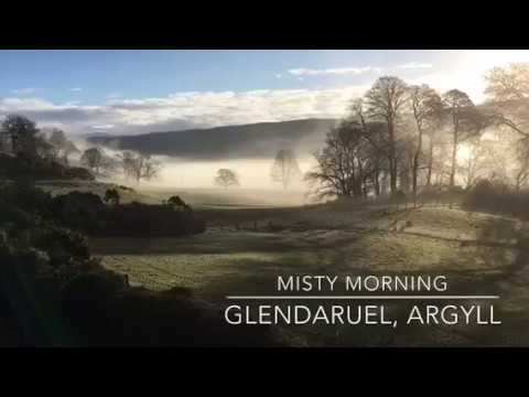 Misty Morning in Glendaruel