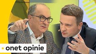 Czarzasty do Stankiewicza: pan by chciał, żebym łamał Konstytucję?! | Onet Opinie
