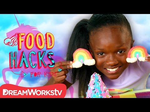 Unicorn Hacks, They're Magical! | FOOD HACKS FOR KIDS
