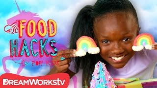 Unicorn Hacks, They're Magical! | FOOD HACKS FOR KIDS | Cook #withme