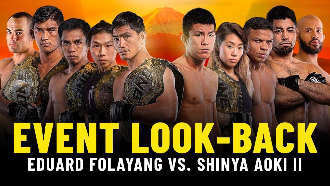 Eduard Folayang vs. Shinya Aoki II Event Look-Back   ONE Championship Up Close
