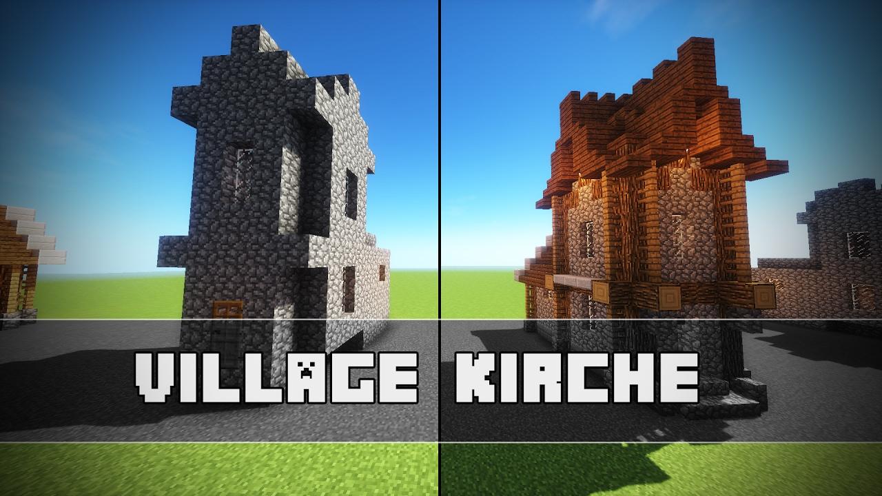 Villager KIRCHE umgestalten! | Minecraft Tutorial - YouTube