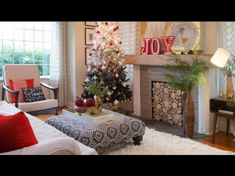a mid century modern christmas living room hayneedlecom youtube