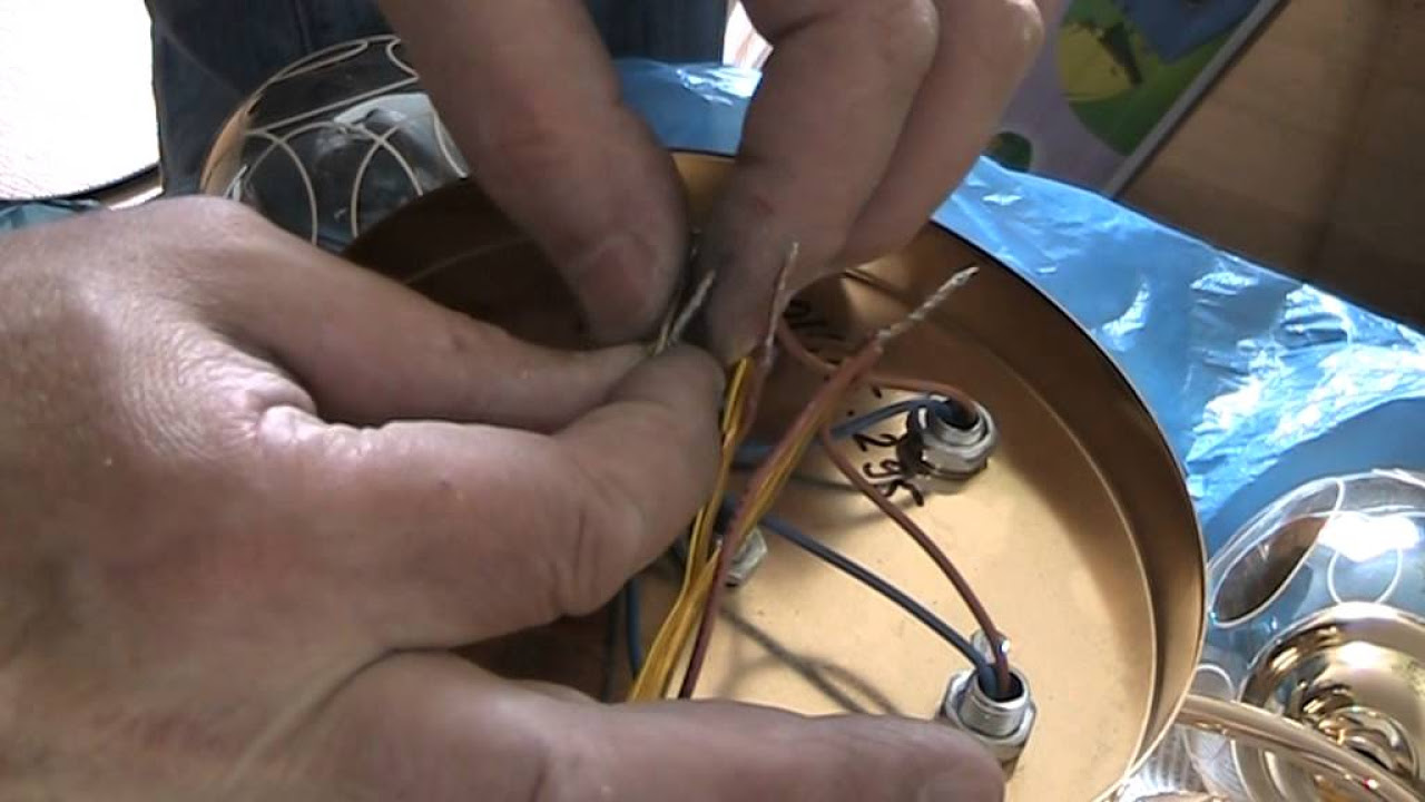 схема подключение трехрожковой люстры от двух клавиш