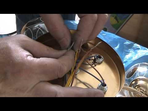 Как соединить провода в пятирожковой люстре