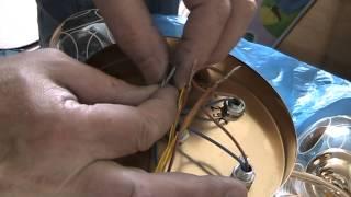 Как подключить люстру. Как соединить провода. Установка в Киеве(, 2014-01-31T20:26:50.000Z)