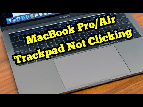 MacBook Pro/Air Trackpad Not Working/Clicking - Fixed 2020