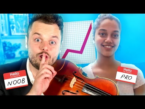 I hired PRO Violin Teachers and Pretended to be a Beginner…