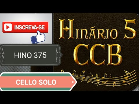 Hino 375 Ccb Hinario 5 A Paz Eu Vos Deixo Cellos Boaz De