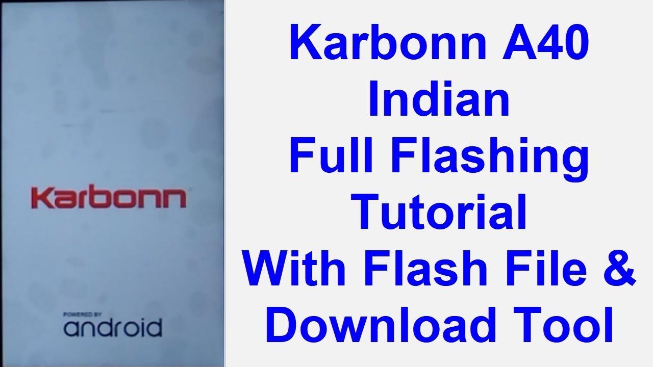 KARBONN K444M FLASH FILE FREE DOWNLOAD