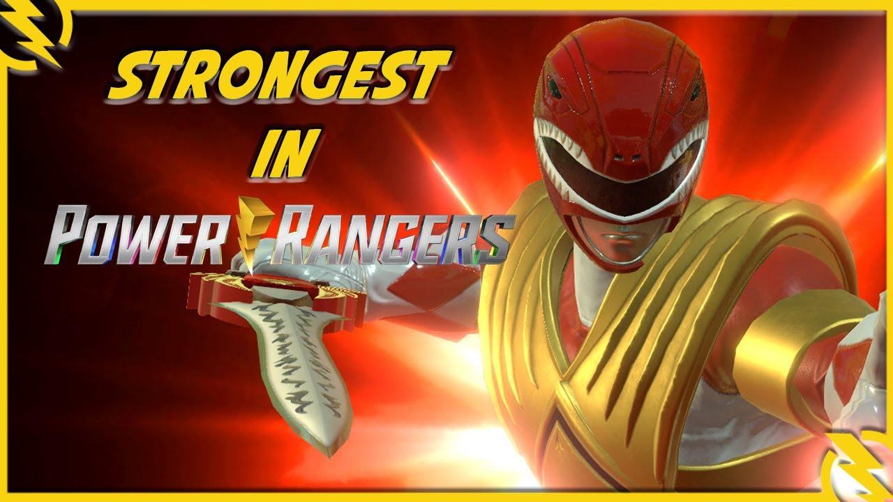 Strongest in Power Rangers – Red Ranger Jason