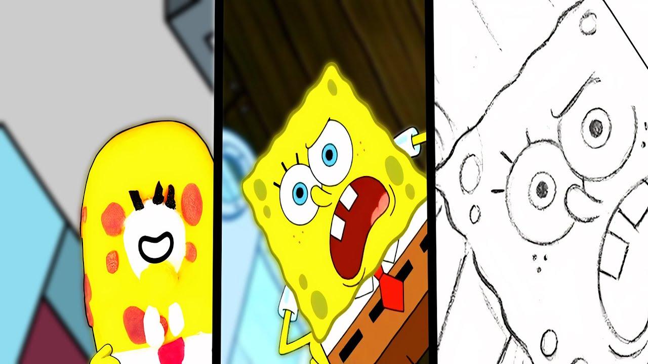 Doodle Spongebob Vs Among Us Animation