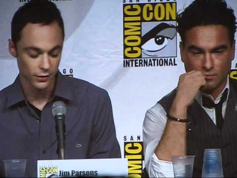 Comic-Con 2010: The Big Bang Theory - The cast on Christine Baranski