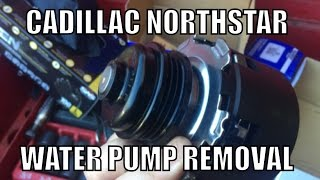 Cadillac Northstar Engine Water Pump Removal