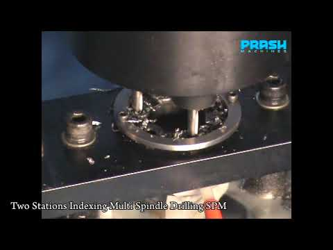 Special Purpose Multi Spindle Drilling Tapping Machine